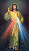 Imágen de Jesús Misericordioso